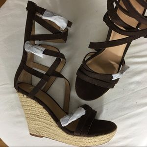 NWOB Joe's Temple Wedge Sandal